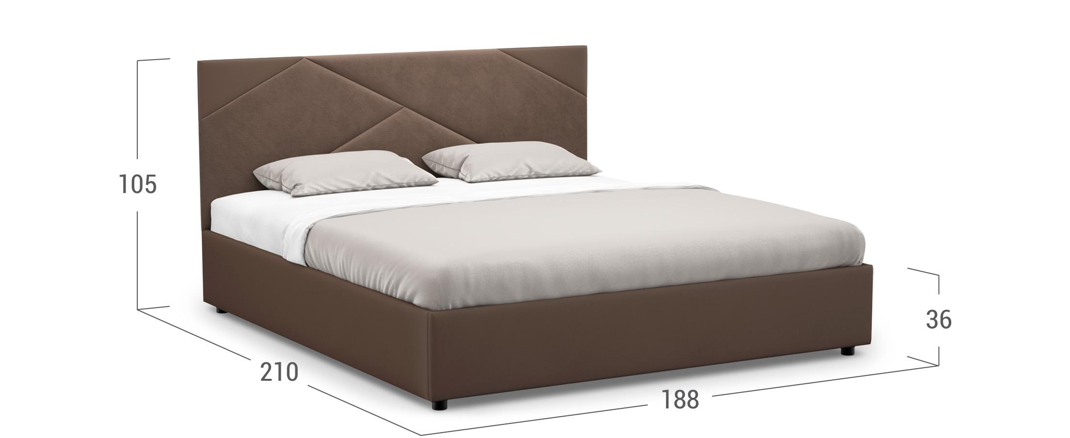 Кровать двуспальная Alba New 180х200 Модель 1226